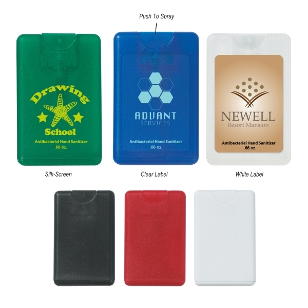 Credit Card Antibacterial Spray