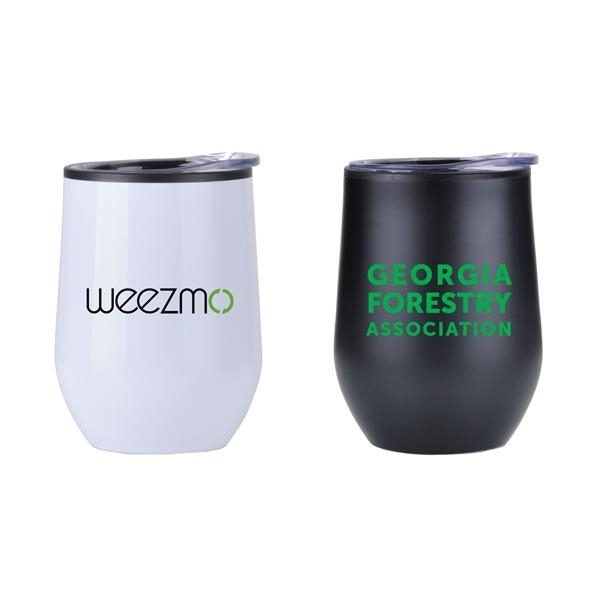 Stainless Steel Lined Vacuum Wine Tumbler Cup