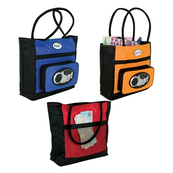 Tote bag bluetooth speaker
